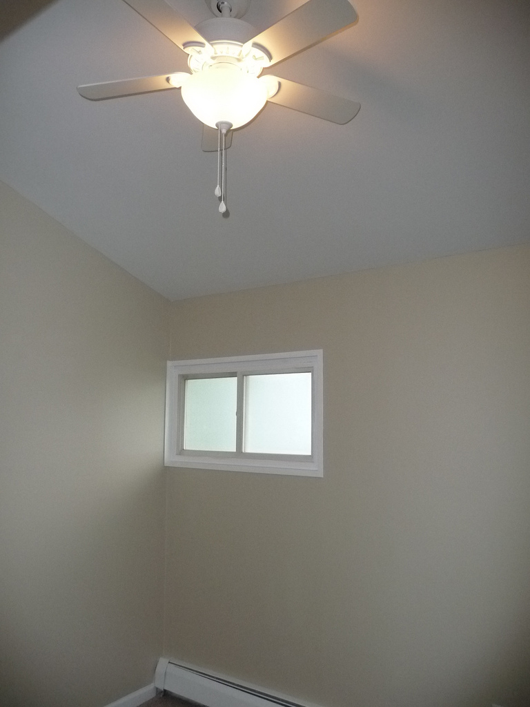 3rd Bedroom with vaulted ceiling