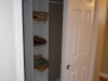 Linen & Coat Closet in hall